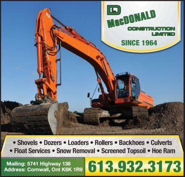 D. L. MacDonald Construction Limited print ad